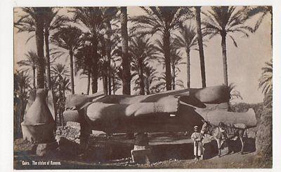 Egypt, Cairo, The Statue of Ramses RP Postcard, B201