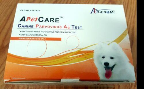 Canine Parvovirus CPV (10 kits) Home Test. Ships fast from Atlanta