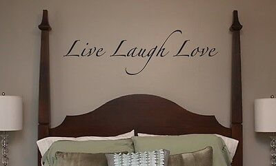 WALL DECALS - Live Laugh Love - lettering wall stickers (Live Laugh Love Wall Decals)
