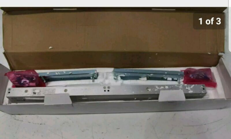 600 lbs  Double Magnetic Lock Alarm Controls Brand NEW  OPEN BOX