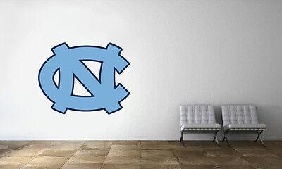 North Carolina Tar Heels Logo Wall Decal NBA Basketball Decor Mural Vinyl Sticke