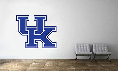 Kentucky Wildcats Logo Wall Decal NBA Basketball Decor Sport Mural Vinyl Sticker ()