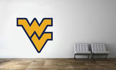 West Virginia Mountaineers Logo NCAA Wall Decal College Football Decor Vinyl -