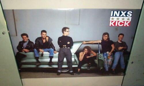INXS Vintage Group 1987 POSTER