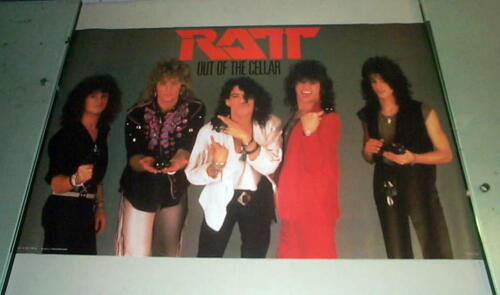 RATT Vintage Out of the Cellar Group 1984  Poster