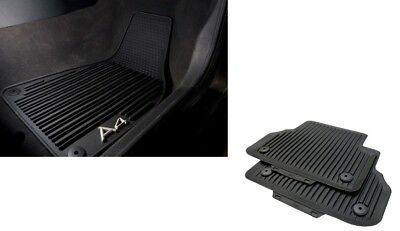 Audi A4 2016 All Weather Front  Rear Rubber Mats Set GENUINE  SALE