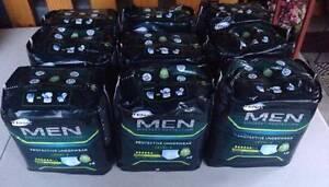 9 Packs - Tena Men - Level 4 – 8 per Pack M-L (95-125cm) NEW $60 Inala Brisbane South West Preview