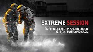 Battlezone Playlive 3 Hour Extreme Event - Maitland Gaol $49pp Salamander Bay Port Stephens Area Preview