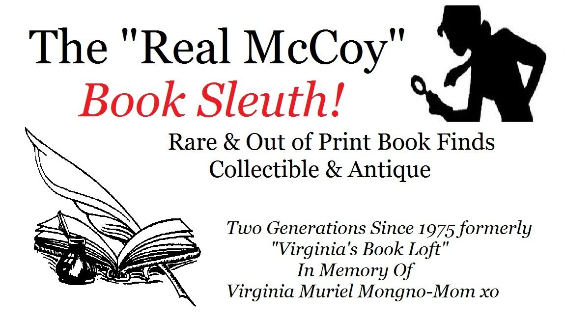 THE REAL MCCOY BOOK SLEUTH