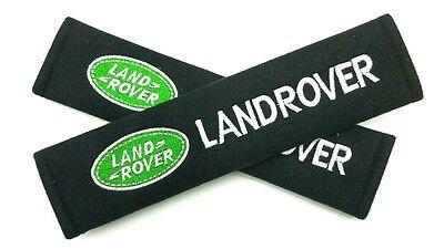 Seat Belt Shoulder Strap Pads LAND ROVER Discovery Evoque Range Rover Sport