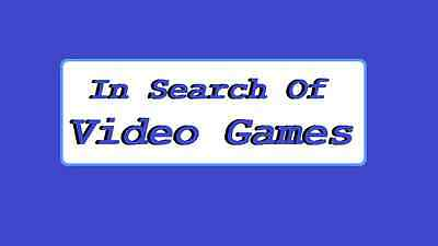 In Search of Video Games