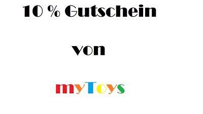 myToys 10% Gutschein Code *MBW 39€* für Neukunden* gültig bis 20.08.19 *PAYPAL*