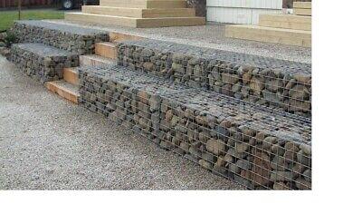 1.5 x 1.0 x 1.0m Outdoor Garden Patio Retaining Wall Gabion Steel Baskets