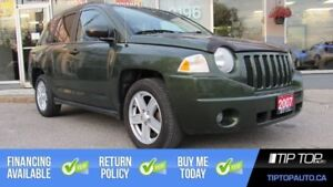 2007 Jeep Compass Sport ** Manual, No Accident, Sunroof **