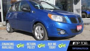 2009 Pontiac G3 Wave SE ** No Accidents, One Owner, Sunroof **