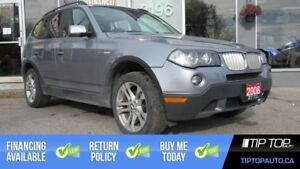 2008 BMW X3 3.0si ** AWD, Leather, Panoramic Sunroof **