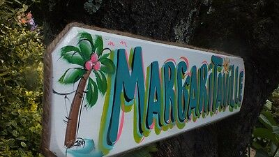 PARROTHEAD BUFFET MARGARITAVILLE TROPICAL POOL BEACH HOUSE TIKI BAR SIGN PLAQUE