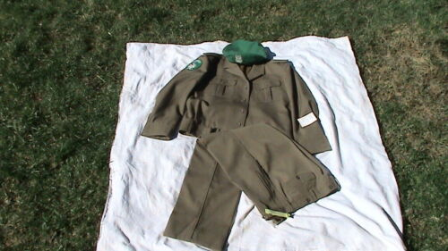 POLISH VERY RARE MILITARY UNIFORM with CAP and TROUSERS - SET - BARGAIN