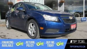 2013 Chevrolet Cruze LT Turbo ** One Owner, Leather, Winter Tire