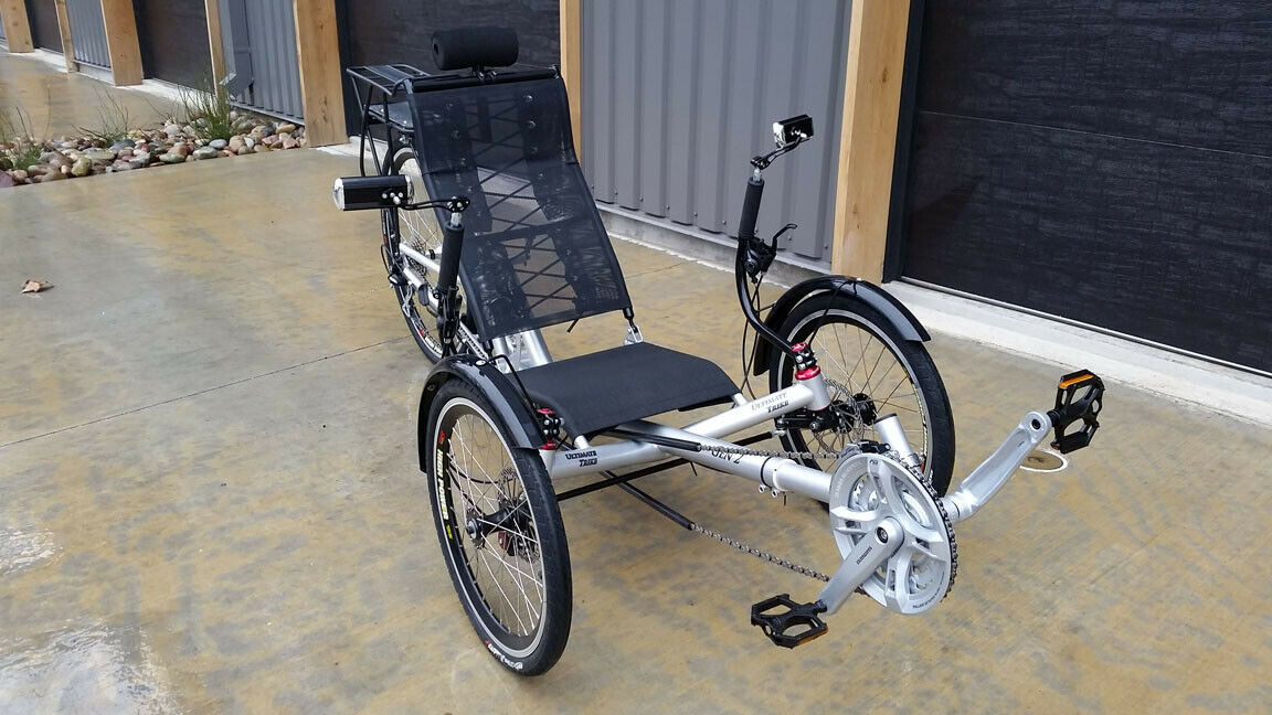 Folding Recumbent Trike Bike Bicycle w/ Electric Motorized Option (New other (see details) - 6295 USD)