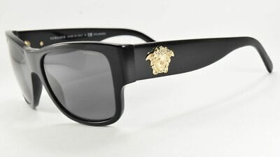 Versace SUNGLASSES 4275 GB1/81 BLACK/GRAY Polarized  Lenses