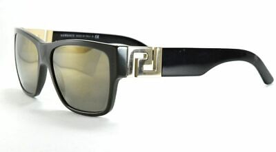 Versace 4296 5193/4T Dark Green and Black / Gray with Mirror Sunglasses