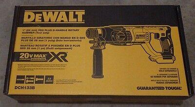 """Dewalt DCH133B 20 Volt 20V Max XR Brushless 1"""" SDS Supplementary Rotary Hammer BRAND NEW!"""
