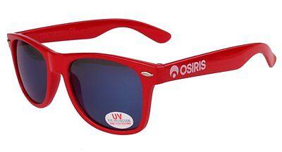 Osiris Skateboarding De Las Locs Red/Blue/Chrome adventurer traveler (Adventure Sunglasses)