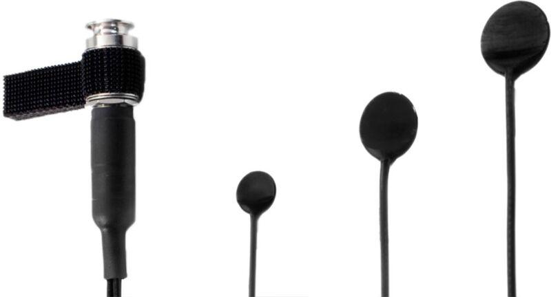 K&K Sound Pure Piano/Harp 3 Sensor Soundboard Transducer Pickup w/External Jack