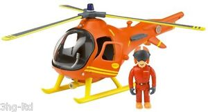 Fireman Sam Toys - Rescue Vehicle Helicopter Fire Engine OR 5 Figures Set New