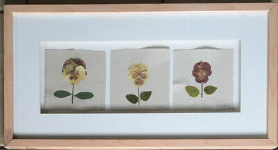 "Thomas Siciliano Papermaker Framed Art - Handmade 23"" X 12"""