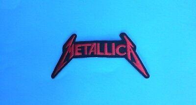 Metallica Iron On Patch! Brand New Heavy Metal Black Sabbath Iron Maiden