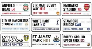 Official-Football-Club-Stadium-Metal-Street-Signs-Gift-Premier-League