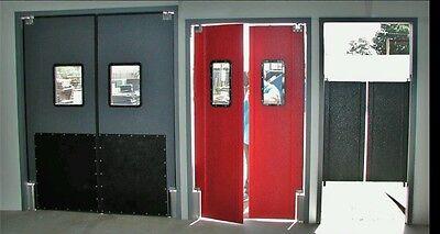 72 X 96 Traffic Door Frame Commercial Door Frames Hollow Metal Knock Down New