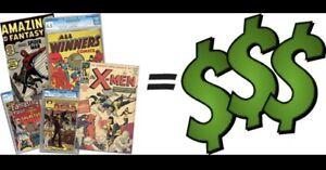 J'achète vos vielles  Bd 1930 à 1990 Marvel DC i buy your comics