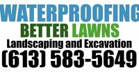 Excavation and Waterproofing !! Certified and Insured