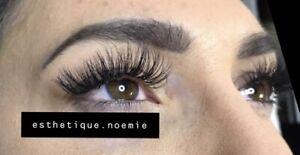 Pose de cils/ eyelashes extension