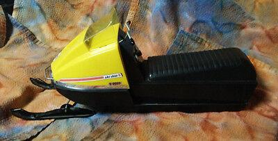 Vintage E-2033 1970's Ski-doo Snowmobile Toy