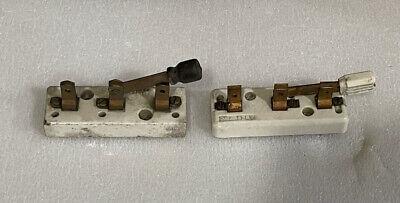 Vintage Paulding Sensory Electric Knife Switchs Porcelain.