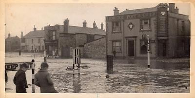 Photo (A) Portland Floods Flooding Nr Weymouth 1942 NOT POSTCARD