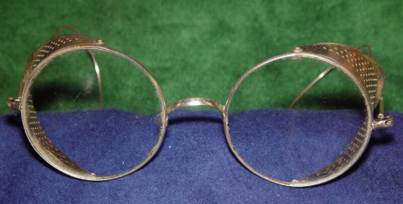 Vintage Folding Welding Goggles
