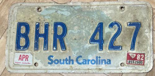 South Carolina USA NUMMERNSCHILD Kennzeichen US LICENSE PLATE  BHR427