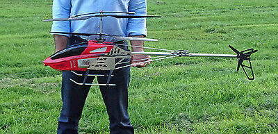 """X LARGE REMOTE CONTROL RC HELICOPTER - BR6508 - 130CM - 51""""- 3.5 CHANNELS - GYRO"""
