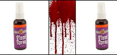 Fake Blood Spray Paint Halloween Party Fancy Dress Theatrical Dress up Costume 2 - Spray Paint Halloween