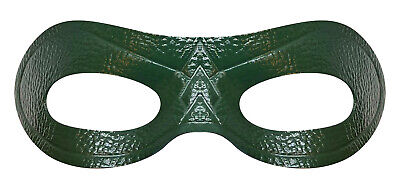 Costume Eye Mask (TV's Green Arrow Costume Leather Eye Mask - MOST Authentic - FREE)
