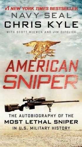 American Sniper Book~SEAL Chris Kyle~255 Kills~Paperback-ORIGINAL- NEW IN STOCK!