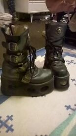 New Rock Boots - Size 4. Good Used Condition! Pick-up only! £40 OBO