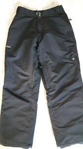 Pantalon HOMME planche à neige ou ski, noir.