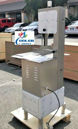 Food Processing Commercial Meat Bone Saw Model HLS-2020 Butcher Deli Bandsaw NSF