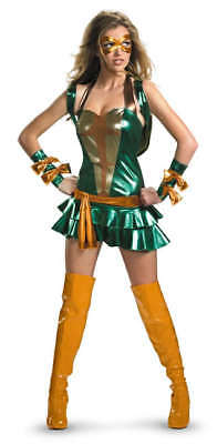 Damen Erwachsene Tmnt Deluxe Michelangelo Turtles Kostüm